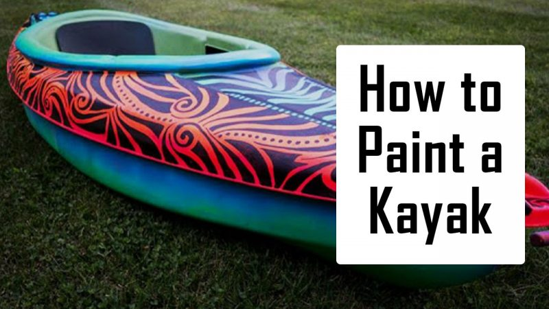 how to paint a kayak