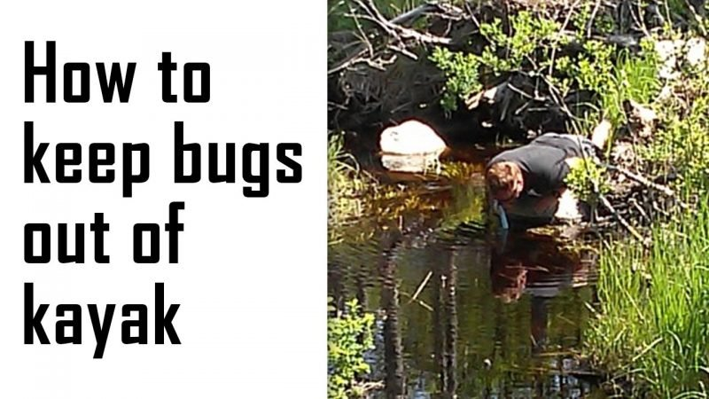 how to keep bugs out of kayak