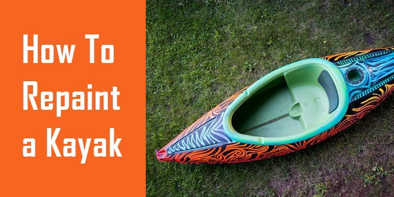 how to repaint a kayak